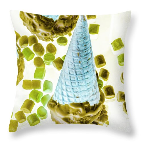 Sweet Throw Pillow featuring the photograph Summer Tips And Parlour Tricks by Jorgo Photography - Wall Art Gallery