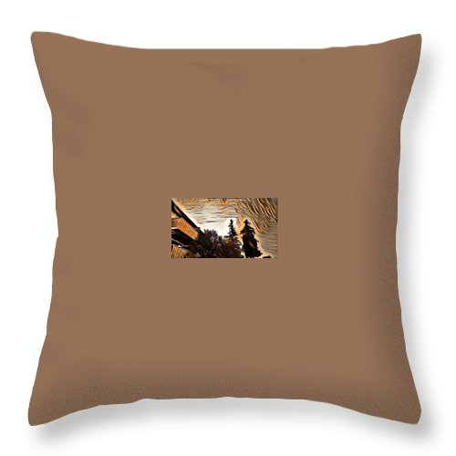 Sunrise Throw Pillow featuring the photograph Sun Up by Steven Wills