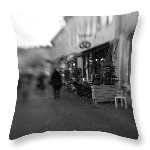 Sweden Throw Pillow featuring the photograph Sweden Gothenburg Haga by Carin Sigeskog