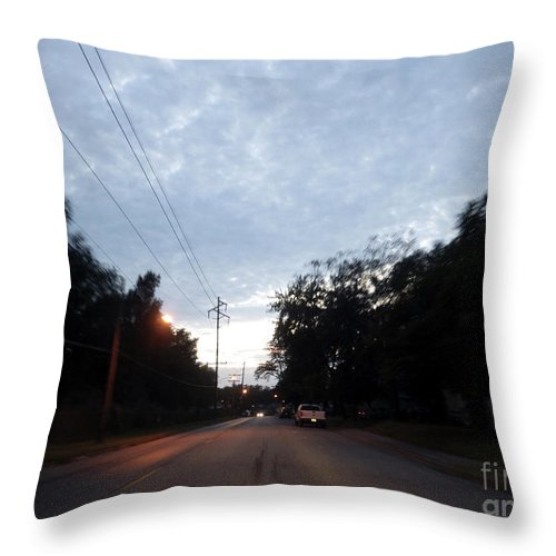 Motion Throw Pillow featuring the photograph The Passenger 06 by Joseph A Langley