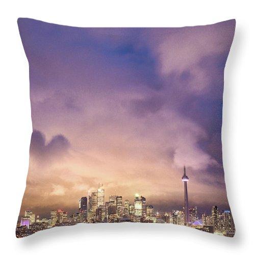 Toronto Throw Pillow featuring the photograph Toronto Love by Richard Gottardo - Info@richardgottardo.com