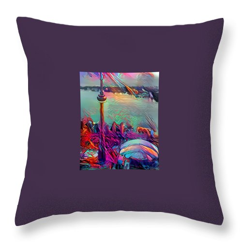 Toronto Throw Pillow For Sale By Nxx Rxx