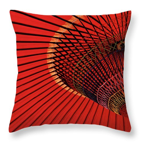 Kyoto Prefecture Throw Pillow featuring the photograph Traditional Tone by Sunnywinds