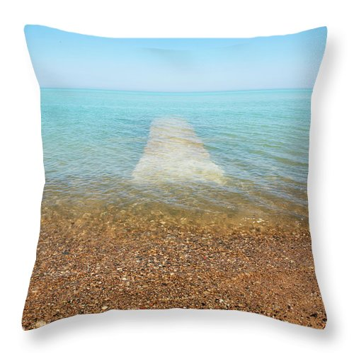 Global Warming Throw Pillow featuring the photograph Global Warming by Marilyn Hunt