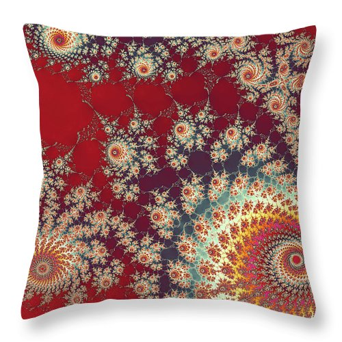 Art Throw Pillow featuring the digital art Unity by Ester McGuire