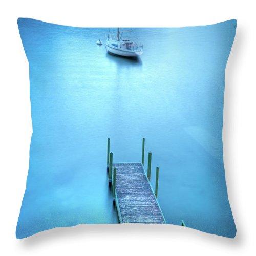 Scenics Throw Pillow featuring the photograph Varenna, Lago Di Como by Mmac72