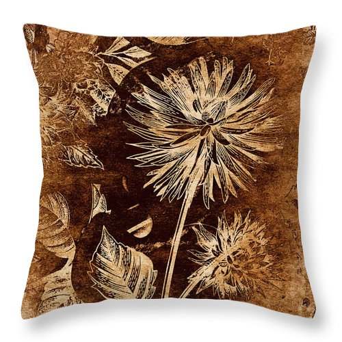 Vintage Throw Pillow featuring the photograph Vintage Blossom by Jorgo Photography - Wall Art Gallery