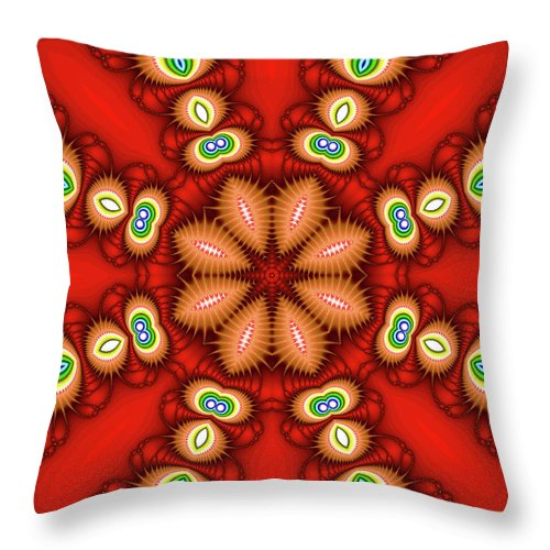 Art Throw Pillow featuring the photograph Watcher's Eyes by Ester McGuire