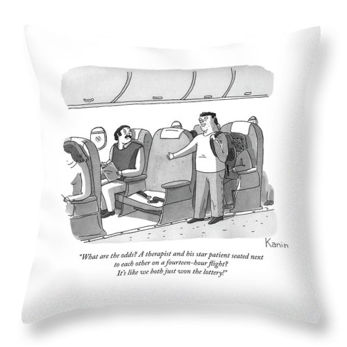 What Are the Odds Throw Pillow