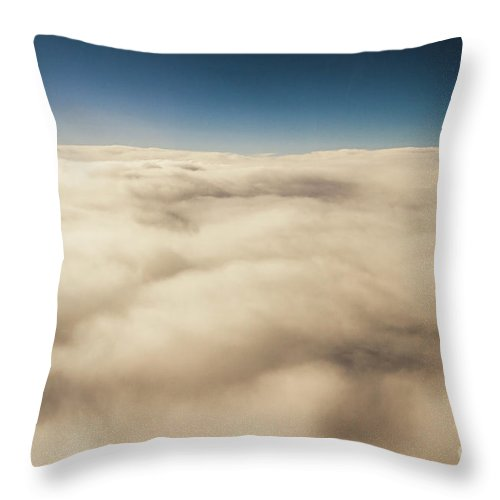 Cloud Throw Pillow featuring the photograph Wispy Heavens by Jorgo Photography - Wall Art Gallery