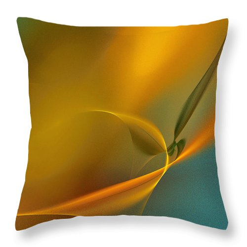 Orange Color Throw Pillow featuring the photograph Yellow Lights by I Dedicate This Creation To You All Dream Makers... Realeoni