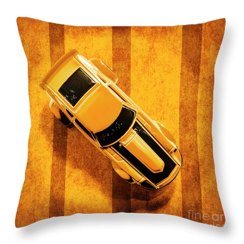 Automotive Throw Pillow featuring the photograph Z by Jorgo Photography - Wall Art Gallery