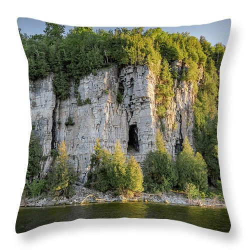 Landscapes Throw Pillow featuring the photograph 20-0608-0150 by Anthony Roma