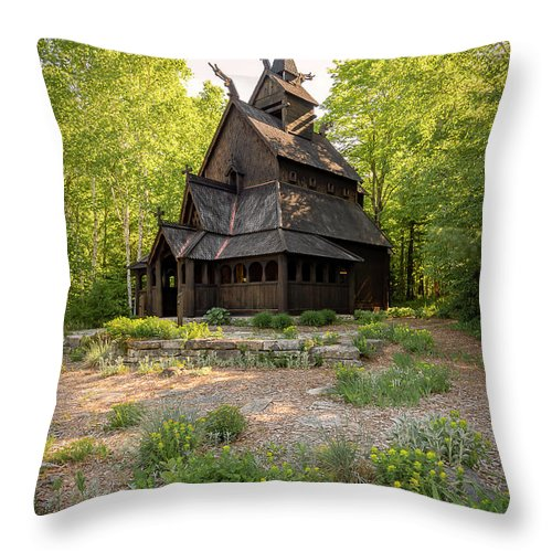 Architecture Throw Pillow featuring the photograph 20-0609-0217 by Anthony Roma