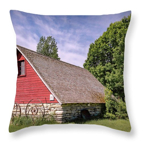 Architecture Throw Pillow featuring the photograph 20-0609-0238 by Anthony Roma