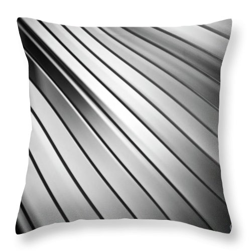 Abstract Throw Pillow featuring the photograph Abstract 26 by Tony Cordoza