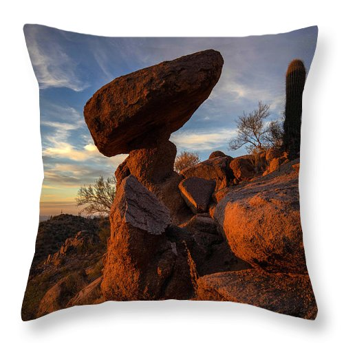 Photography Throw Pillow featuring the photograph Ancient Ones by Kati Astraeir