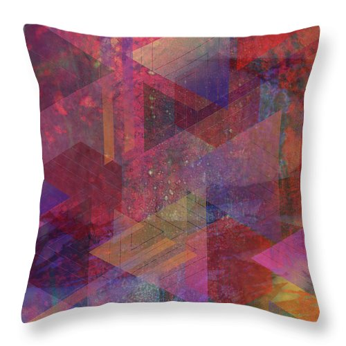 Another Place Throw Pillow featuring the digital art Another Place by John Robert Beck
