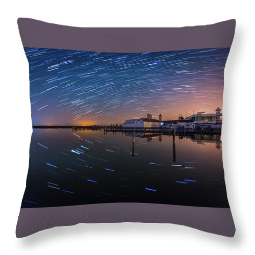 Austria Throw Pillow featuring the photograph Beyond Us by Jerzy Bin