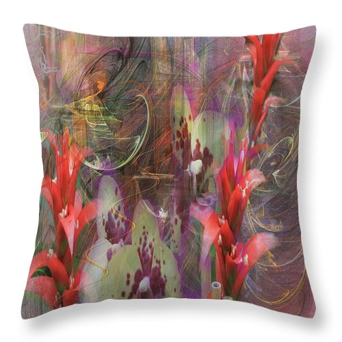 Chosen Ones Throw Pillow featuring the digital art Chosen Ones by John Robert Beck