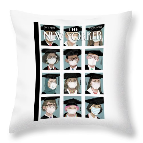 Class Of 2020 Throw Pillow