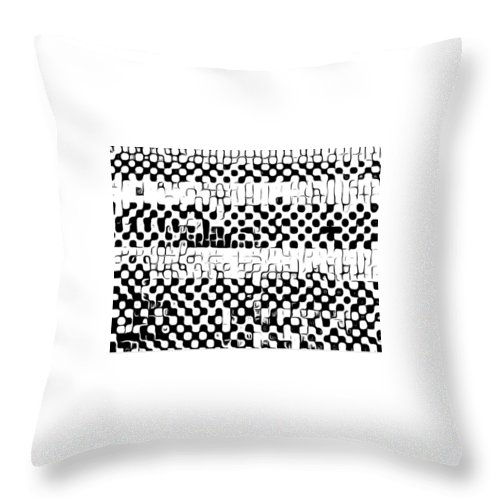 Art Throw Pillow featuring the digital art Details by Andrew Johnson