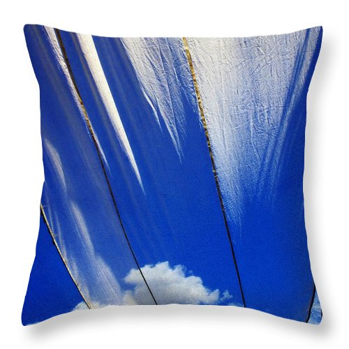 Heavenly Throw Pillow featuring the photograph Heaven by Skip Hunt