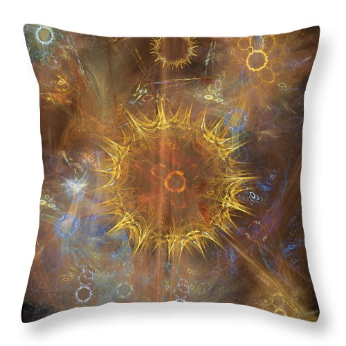 One Ring To Rule Them All Throw Pillow featuring the digital art One Ring To Rule Them All by John Robert Beck