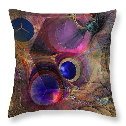Peace Throw Pillow featuring the digital art Peace Will Come by John Robert Beck