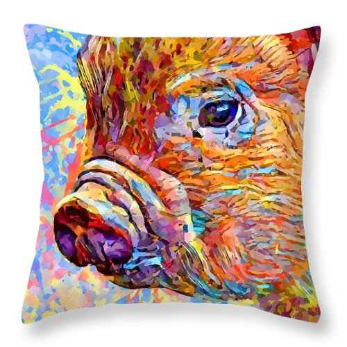 Piglet Throw Pillow For Sale By Chris Butler