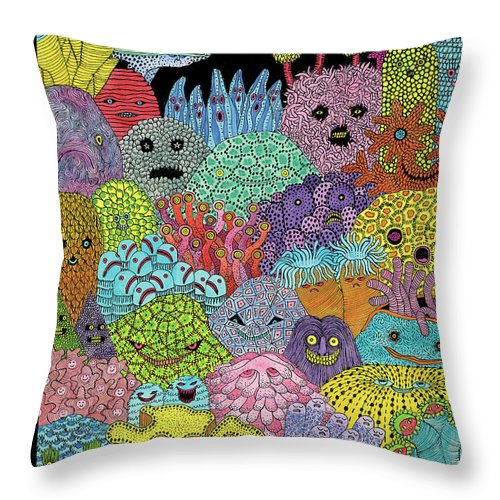 Sea Change Throw Pillow