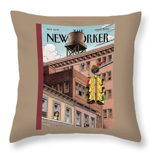 Shelter In Place Throw Pillow