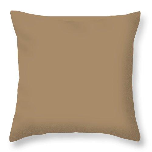 Ann Throw Pillow featuring the photograph Tan by Ann Keisling