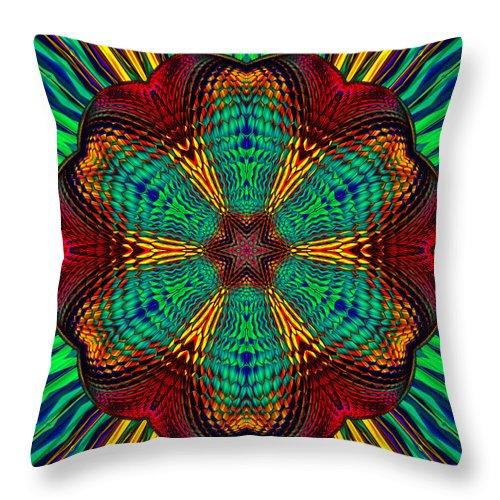 Throw Pillow featuring the digital art Tesla's Design by Steve Solomon