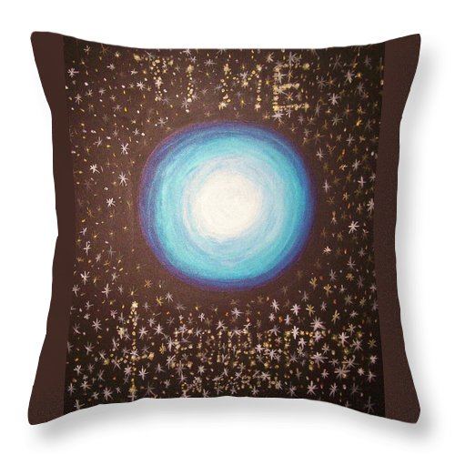 Jandrel Throw Pillow featuring the painting Time 4 Equality by J Andrel