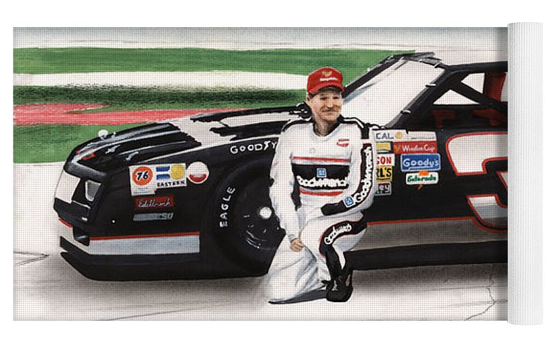 Dale Earnhardt Goodwrench Monte Carlo Yoga Mat