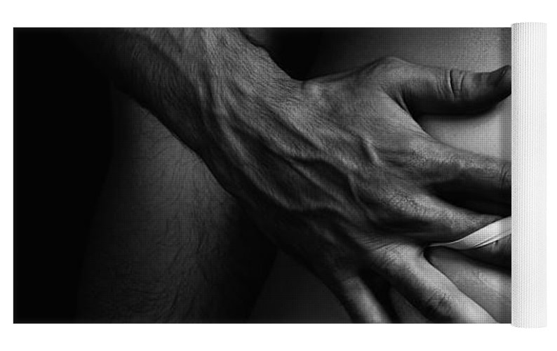 Black And White Erotic Couple Photography