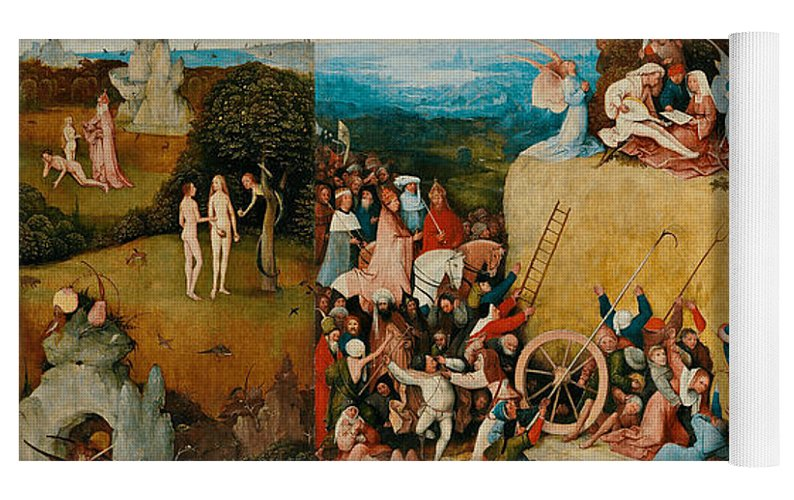 6bd8076a5ec The Haywain Triptych .png Yoga Mat for Sale by Hieronymus Bosch