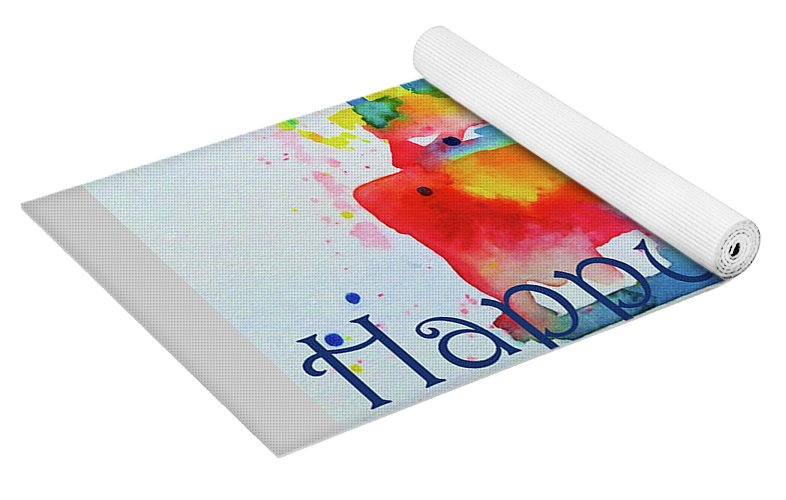 Happy Birthday Blue Cake Yoga Mat for Sale by Claire Bull 29695ecb4d2a4