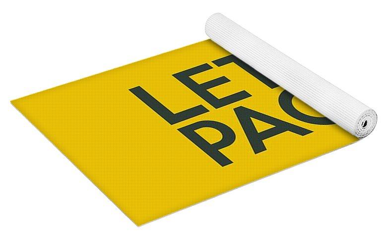 Let s Go Packers Yoga Mat for Sale by Florian Rodarte 09c72b208