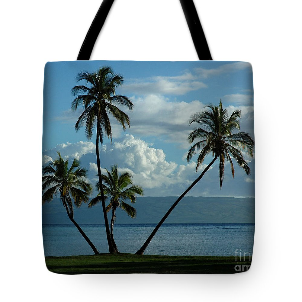 Hawaii Tote Bag featuring the photograph A Little Bit Of Paradise by Vivian Christopher