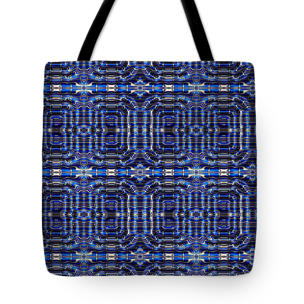 Math Tote Bag featuring the digital art Equations by Robert Orinski