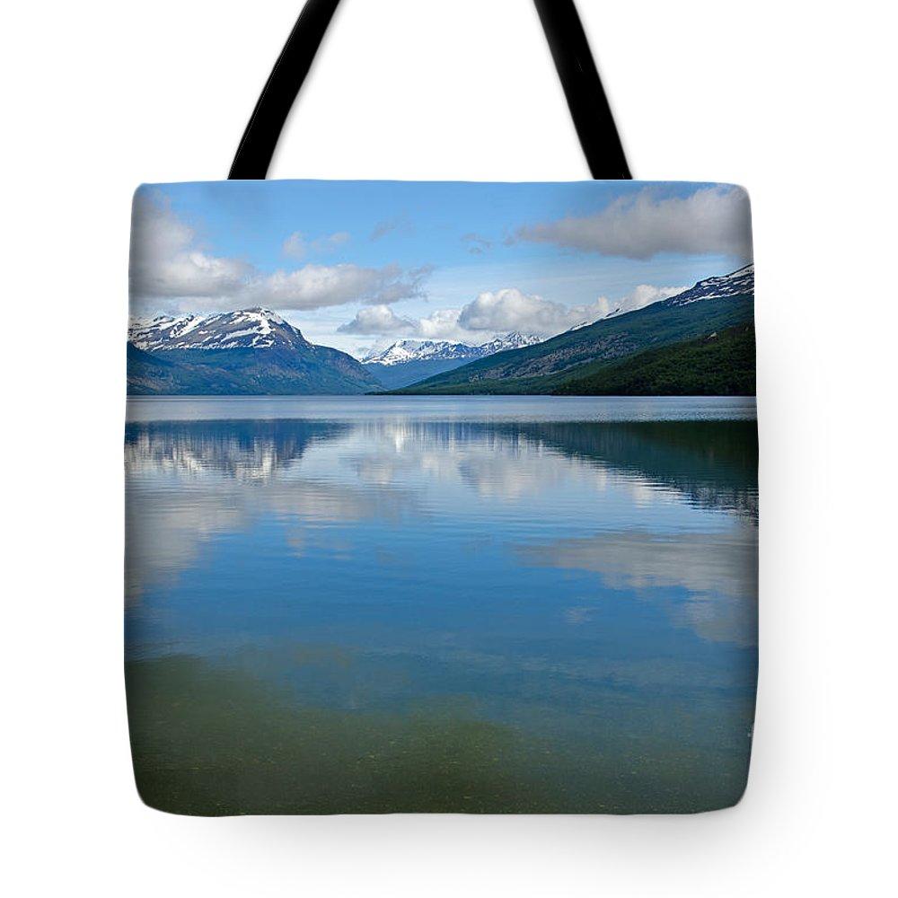 Lago Tote Bag featuring the photograph Lago Roca In Tierra Del Fuego National Park by Ralf Broskvar