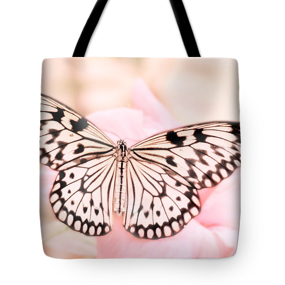 Butterfly Tote Bag featuring the photograph Paper Kite by David and Carol Kelly