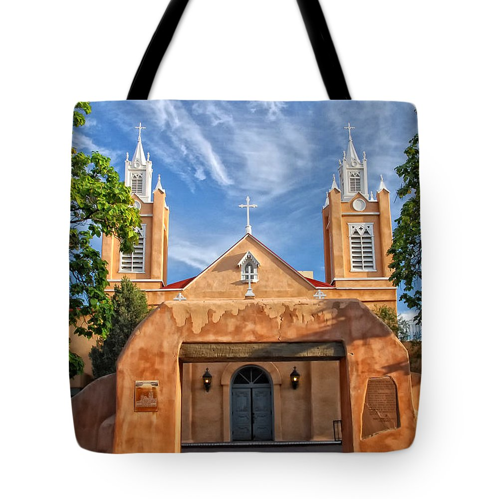 Abandoned Tote Bag featuring the photograph San Filipe De Neri by Ghostwinds Photography