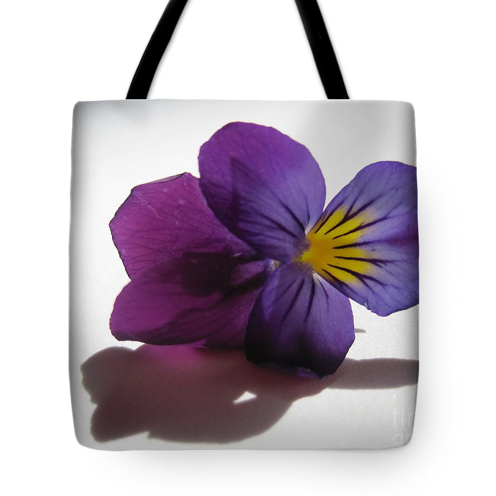 Floral Tote Bag featuring the photograph Transparency 3 by Tara Shalton