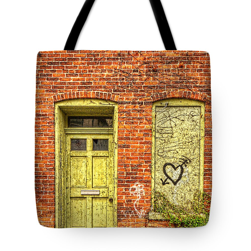 Door Tote Bag featuring the photograph 0089-121 by Lewis Mann