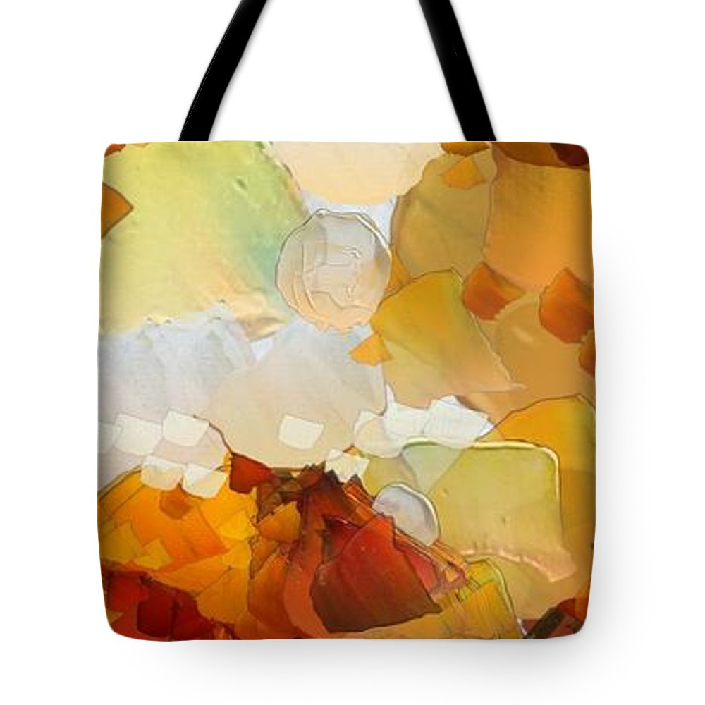 Still Life Tote Bag featuring the painting 0116 by I J T Son Of Jesus