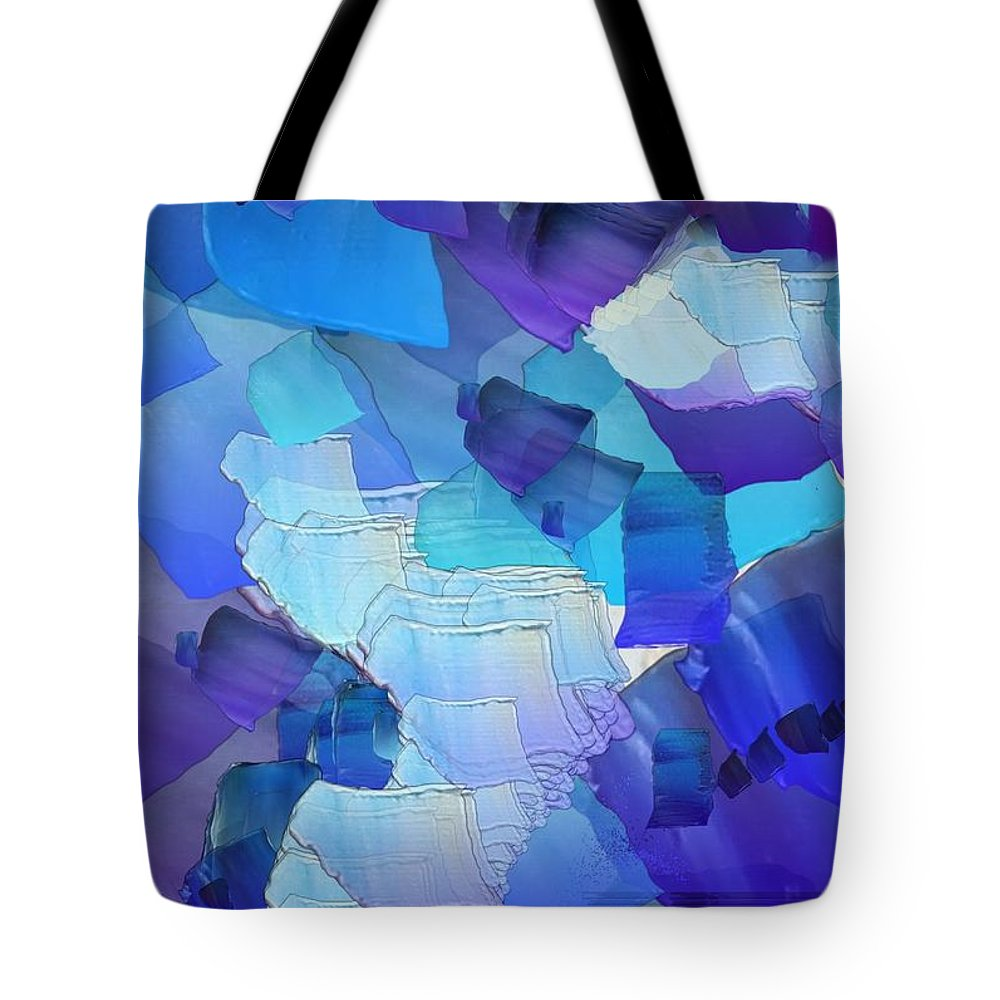 Still Life Tote Bag featuring the painting 0118 by I J T Son Of Jesus