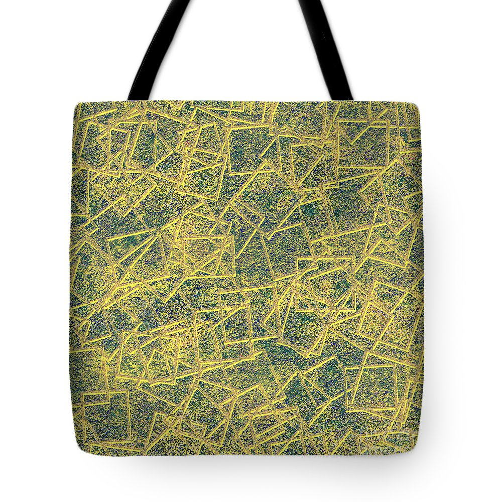 Abstract Tote Bag featuring the digital art 0149 Abstract Thought by Chowdary V Arikatla